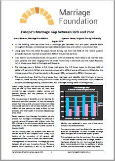 europe marriage gap